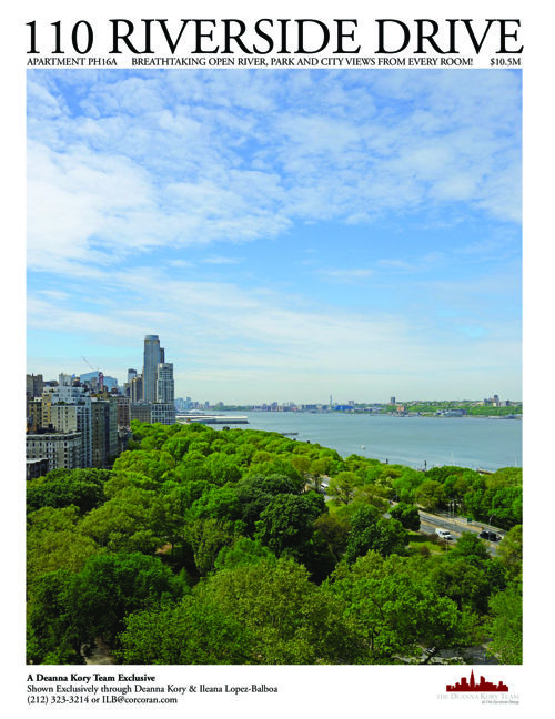 110 Riverside Drive, Apartment 16A