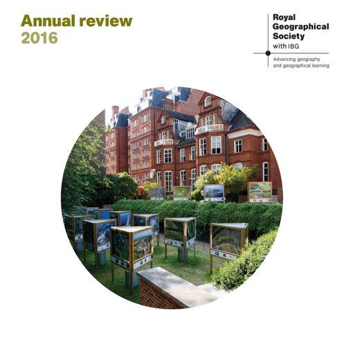 RGS-IBG Annual Review 2016AWs