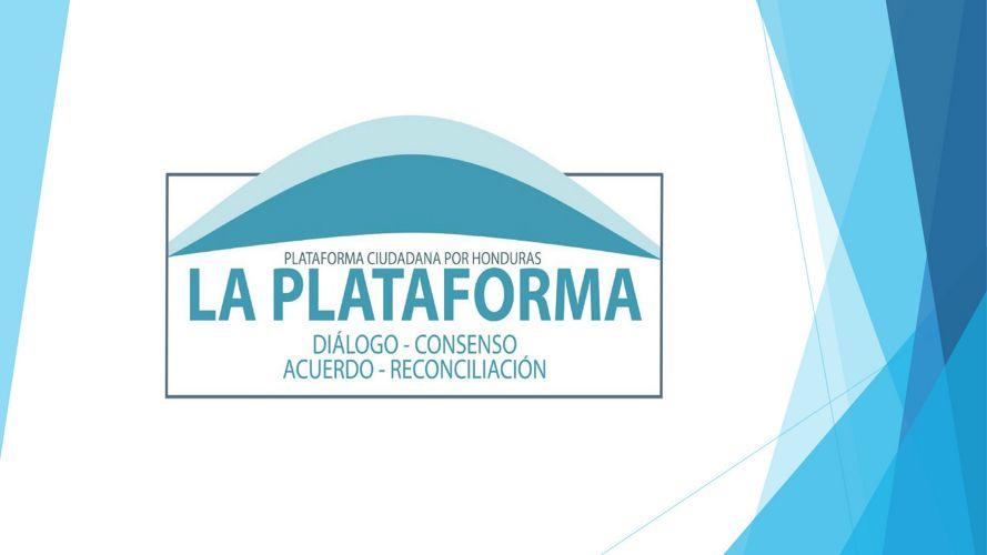 PPT Plataforma Ciudadana por Honduras
