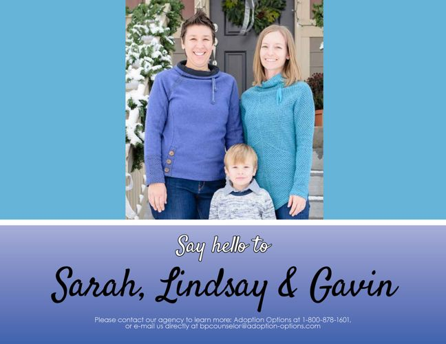 Sarah and Lindsay's Adoptive Family Profile