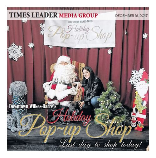 Times Leader Holiday Pop Up Shops