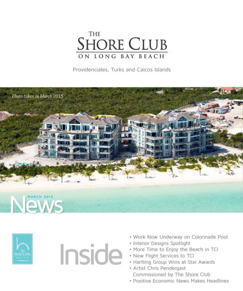 The Shore Club Newsletter | March 2015
