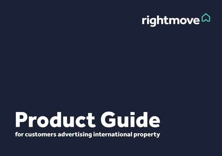 Rightmove Overseas Product Guide
