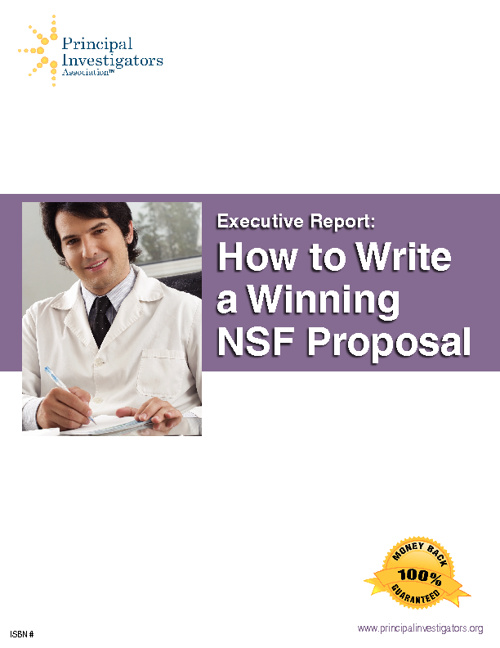 How to Write a Winning NSF Proposal