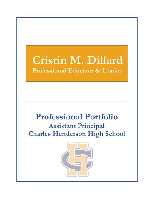 CHHS AP Portfolio