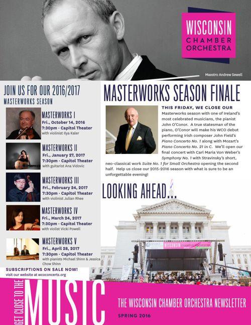WCO Spring 2016 Newsletter