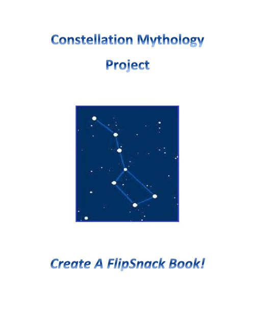 Constellations Project - Sample FlipSnack