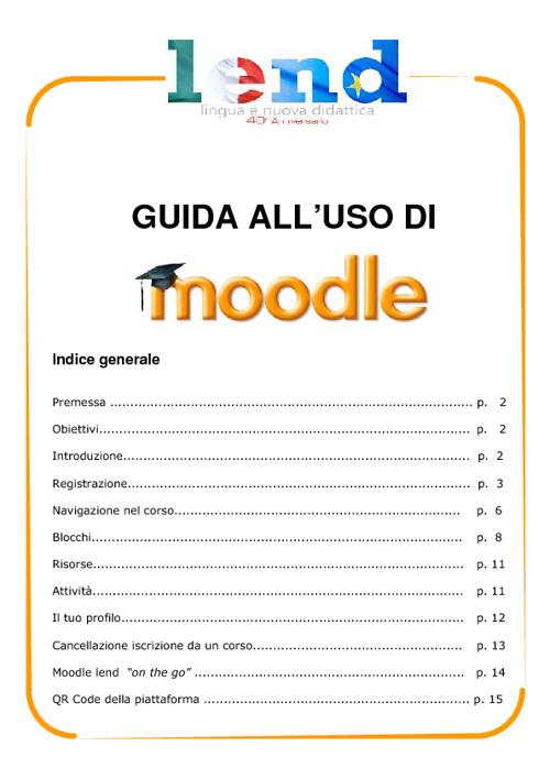 Tutorial lend Moodle