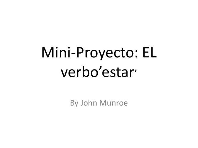 Mini-Proyecto