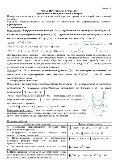 Лекции 8,9