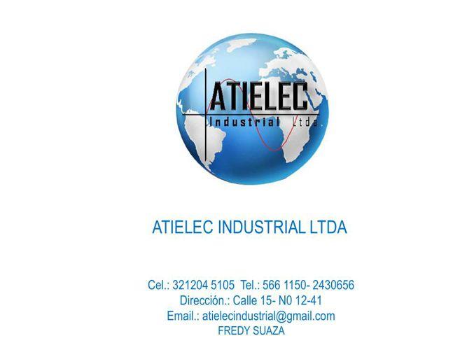 CATALOGO DE PRODUCTOS ATIELEC INDUSTRIAL LTDA