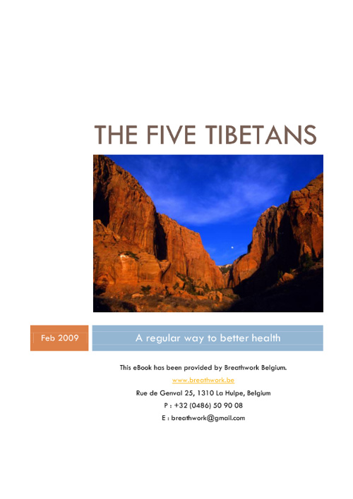 The Five Tibetans by http://www.breathwork.be