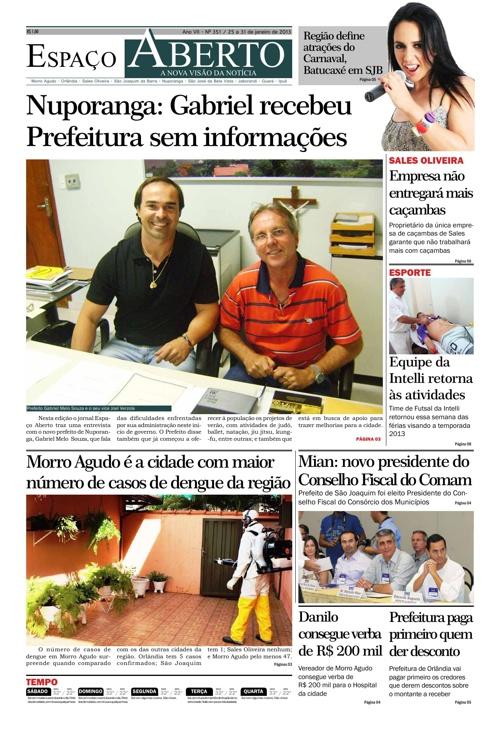 Jornal Espaço Aberto - Edição 351