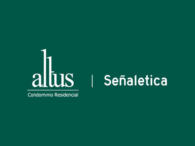 Altus - Señaletica