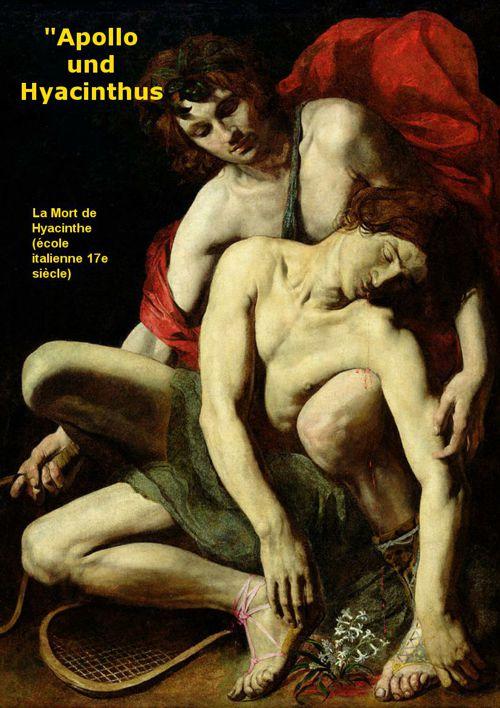 Apollo und Hyacinthus de Mozart (Argument)