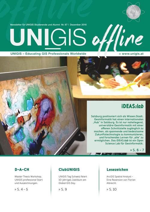 UNIGIS offline Nr. 67 - Dezember 2016