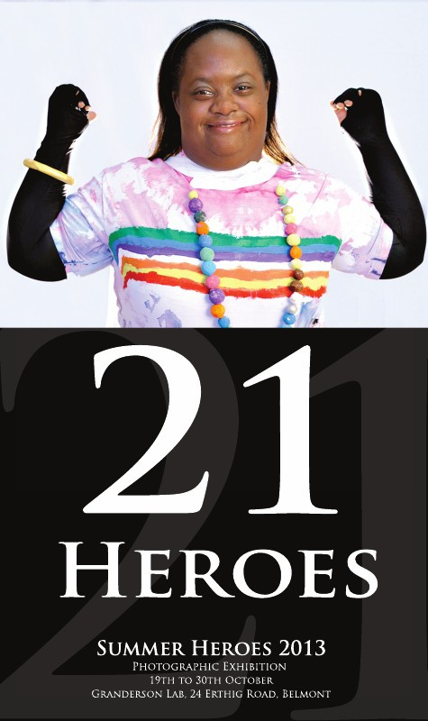 21 HEROES - A photographic Exhibition 2013