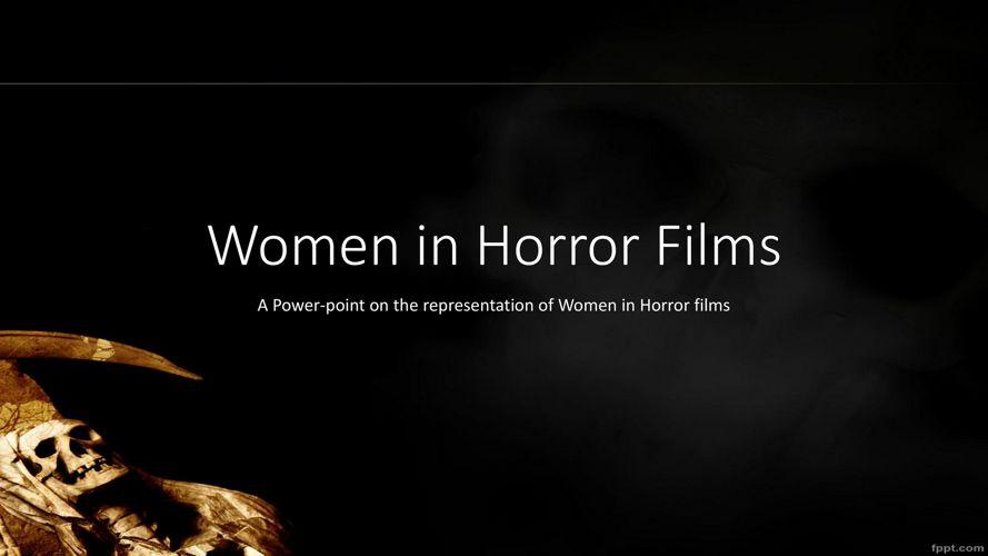 Women in Horror Films