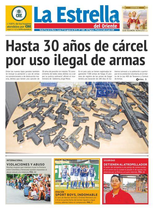 Edición 31-08-2015