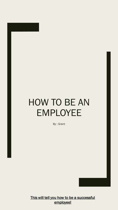 Employability Skills Flip Book