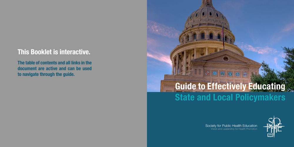 Guide to Effectively Educating State and Local Policymakers
