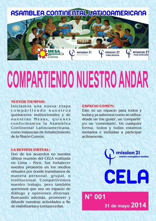 Revista CELA 01