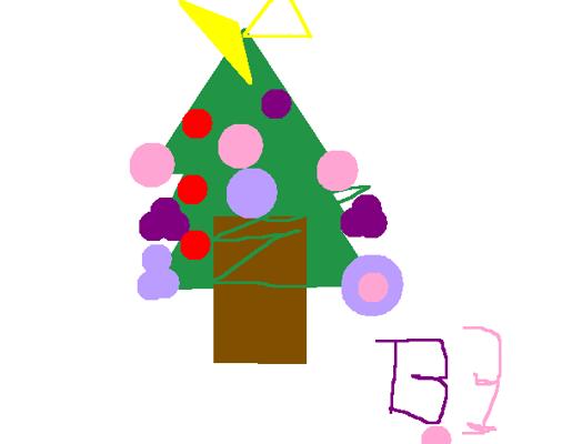 Χριστουγεννιάτικες ζωγραφιές από το Β3.