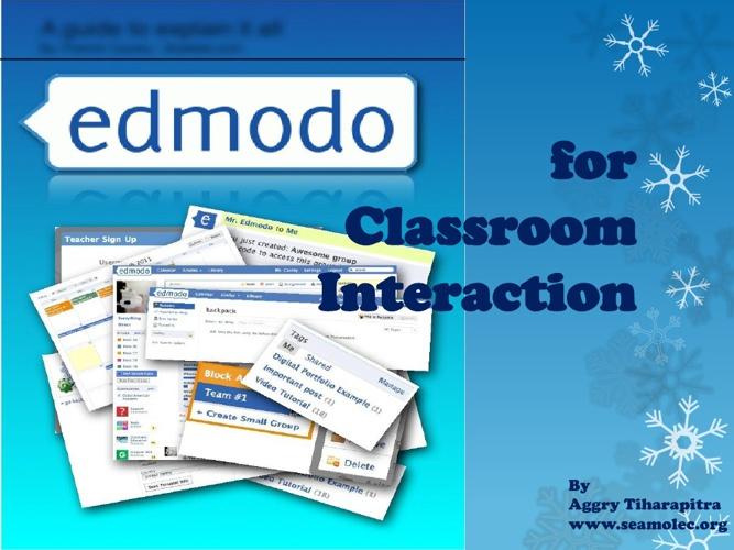 Presentation about edmodo