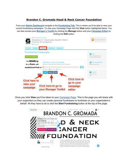 FundraisingvChampions Guide