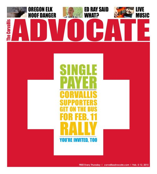 Corvallis Advocate, February 5, 2015