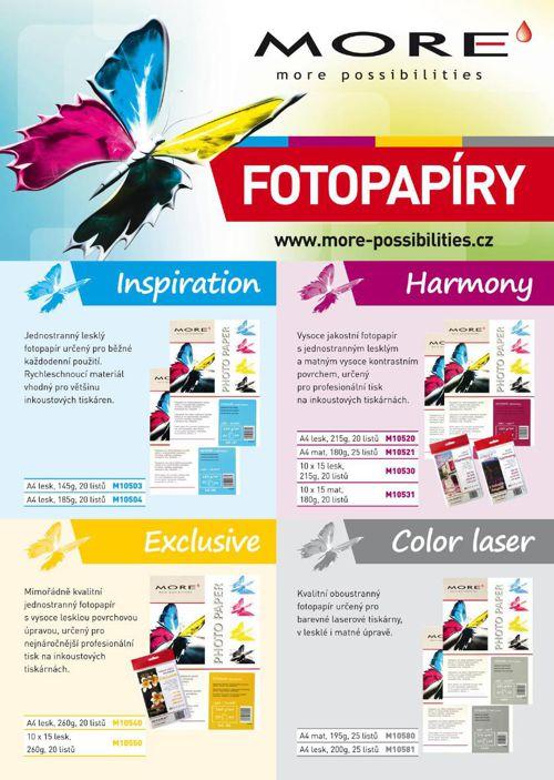 Letak Fotopapiry CZ