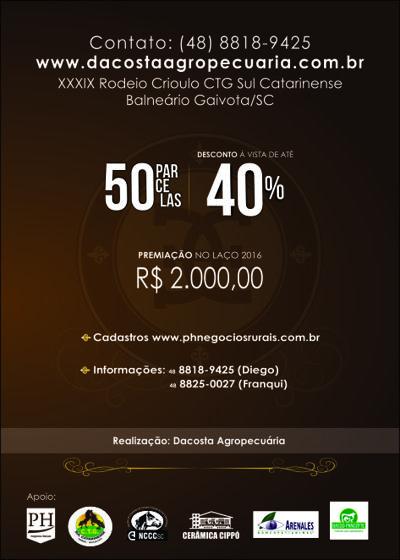 I LEILÃO DE POTROS