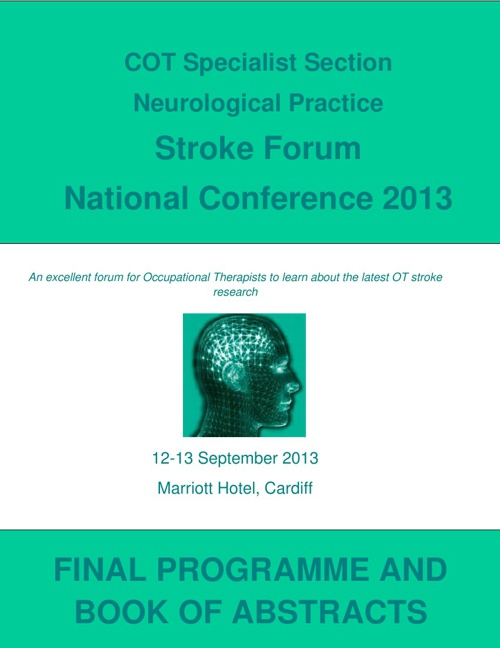 COTSSNP Final Programme and Book of Abstracts