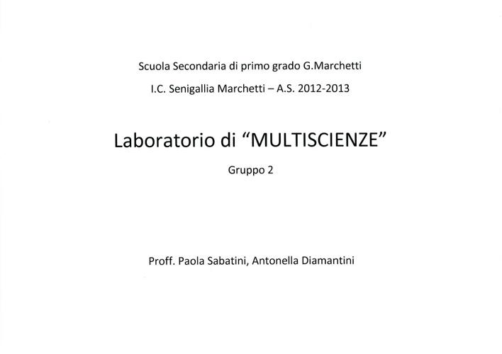 Multiscienze 2