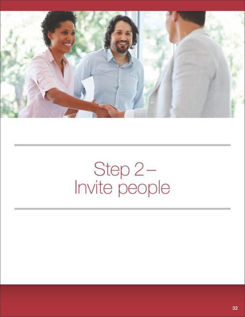 Step 2 - Invite People