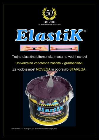 Elastik - vodotesna zaščita