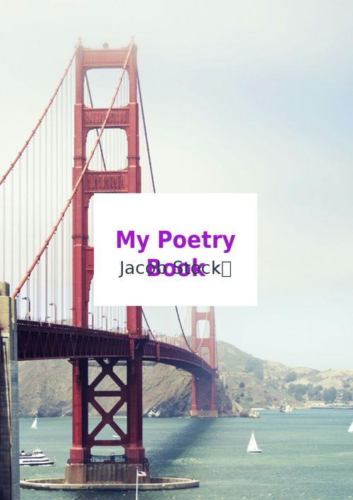 Jacobs poetry book