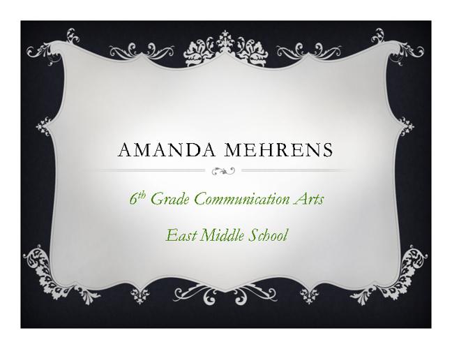 Amanda Mehrens