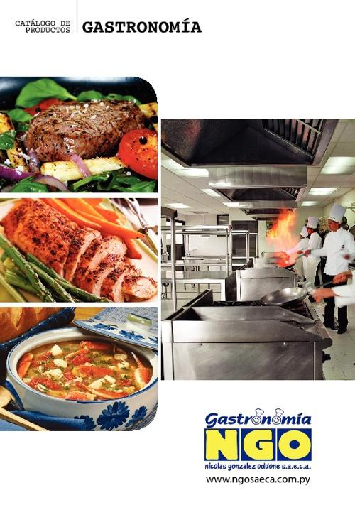 Catalogo Gastronomia 2012