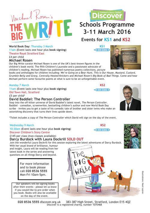 Big Write Schools Programme