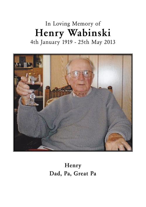 Henry Wabinski