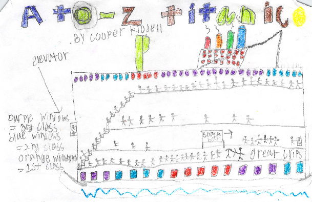 A to Z Titanic by Cooper