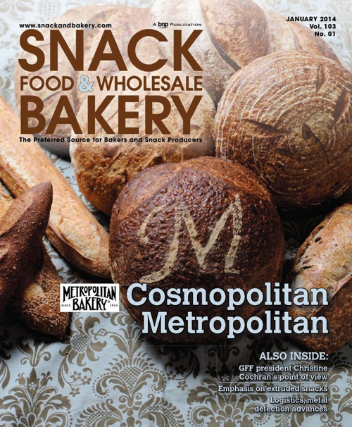 Snack Food and Wholesale Bakery January 2014 - Supply Chain and