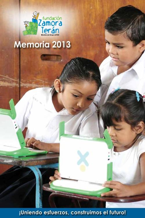 Memoria Fundación Zamora Terán 2013
