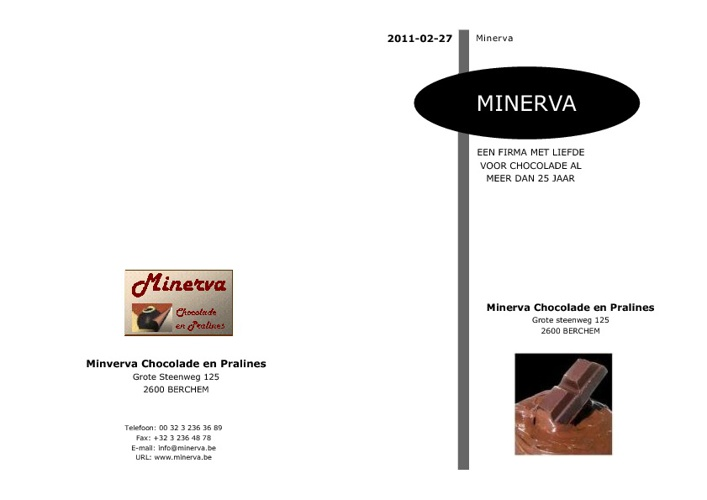 Catalogus Minerva