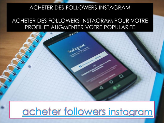followers pas cher