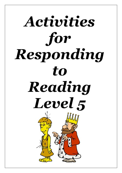 Reading Activities for Working Towards Level 5