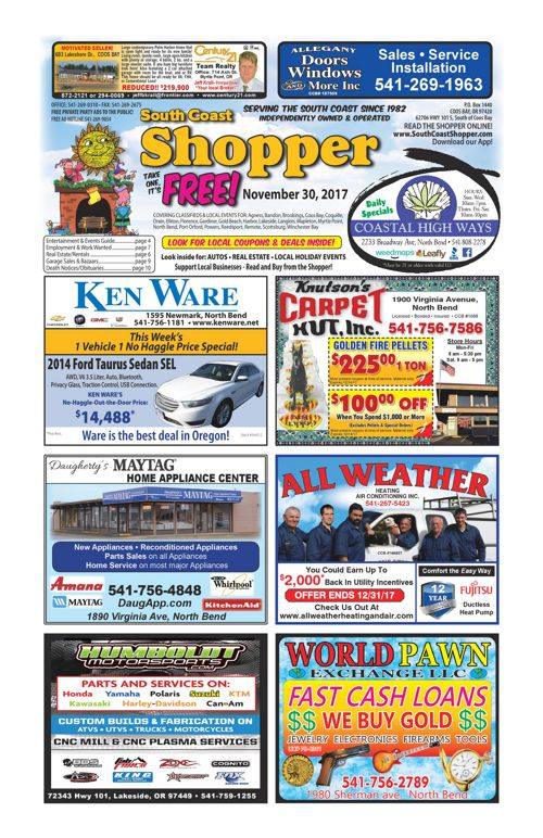 South Coast Shopper e-Edition 11-30-17