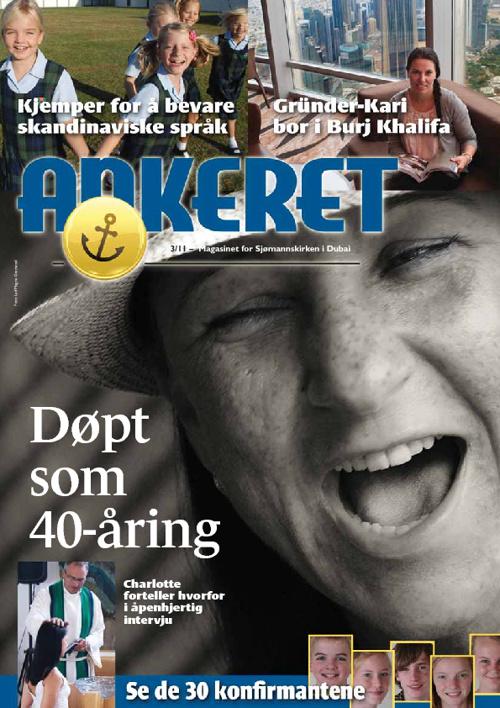 Sjømannskirke-magasinet Ankeret - Dubai des 2011