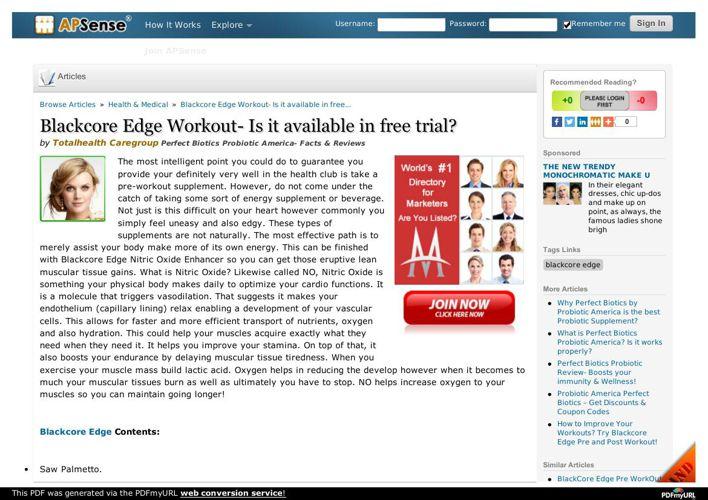 Blackcore Edge- Explore the best Natural Workout Supplement
